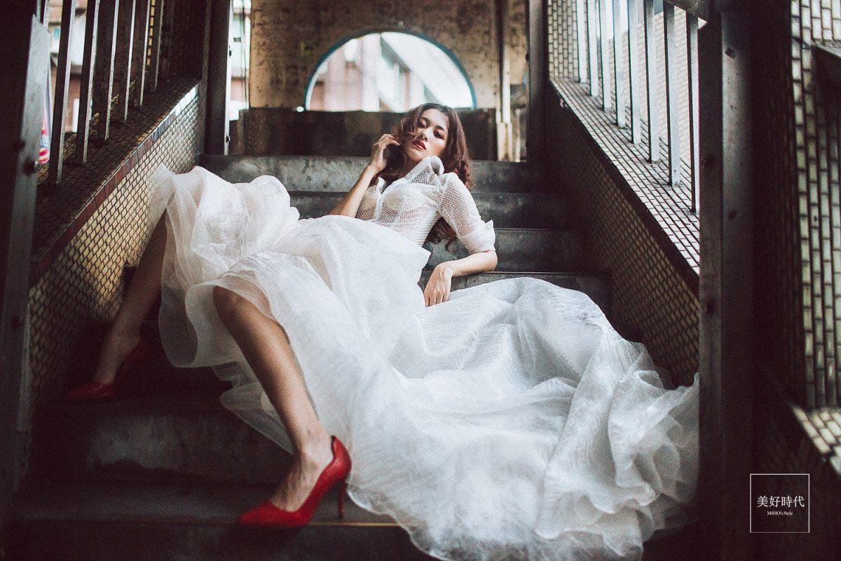 中山陸橋 舒淇橋 台北婚紗工作室推薦 自助婚紗 自主婚紗 唯美 浪漫 個人寫真