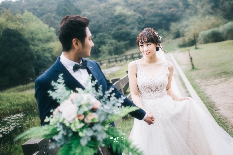 台北婚紗 陽明山婚紗 推薦 花卉 美好時代