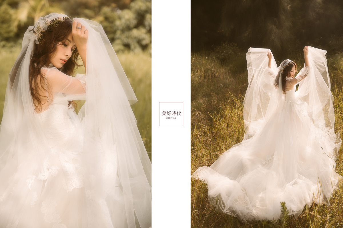 台北 婚紗 推薦 森林 唯美