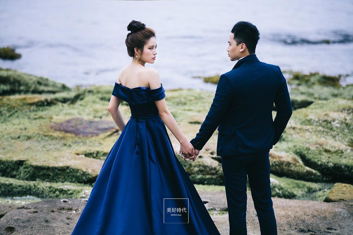 台北 婚紗 推薦 唯美 個性 金山