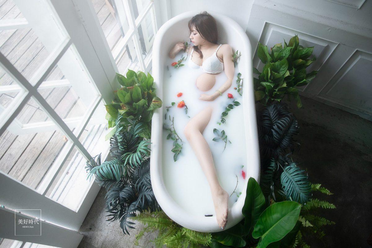 台北 孕婦 寫真 推薦 浴缸