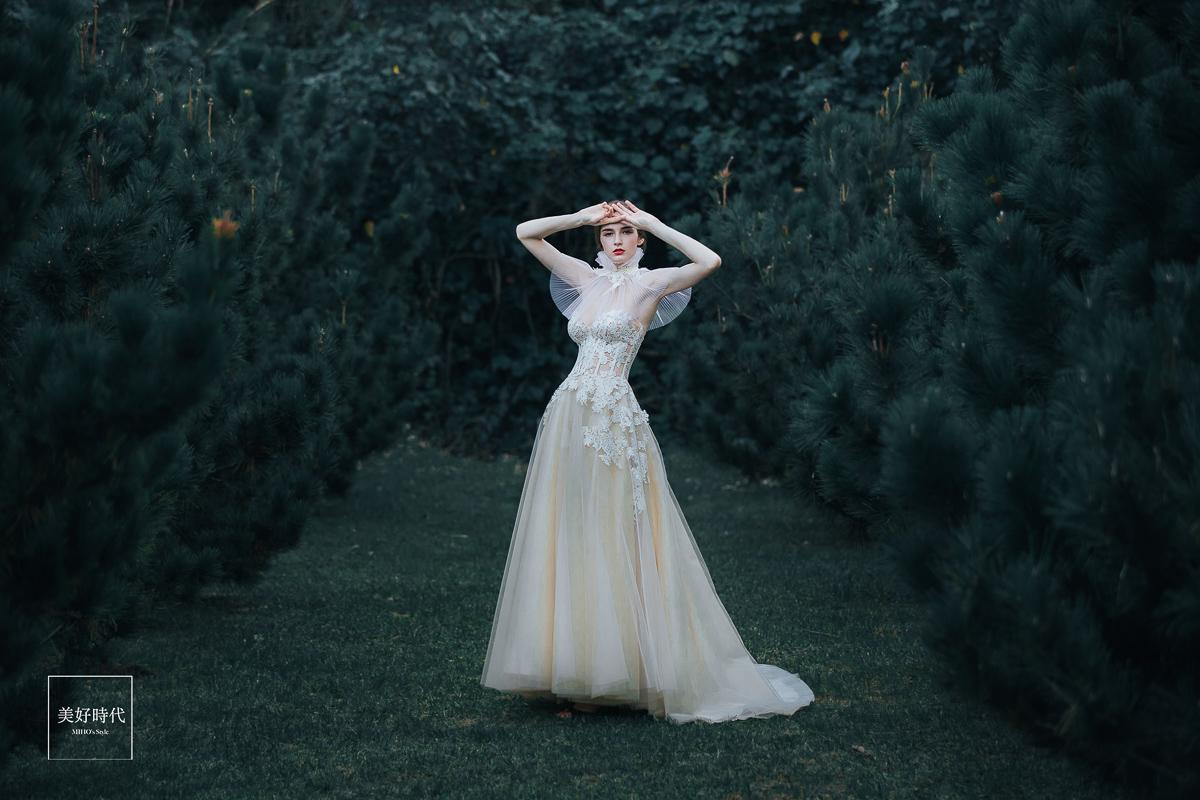 婚紗禮服樣本