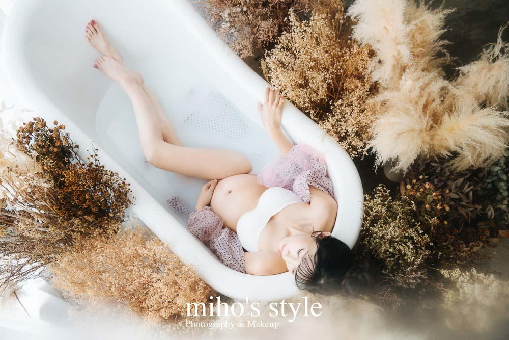 孕婦 寫真 台北 婚紗 推薦 唯美 浪漫 浴缸