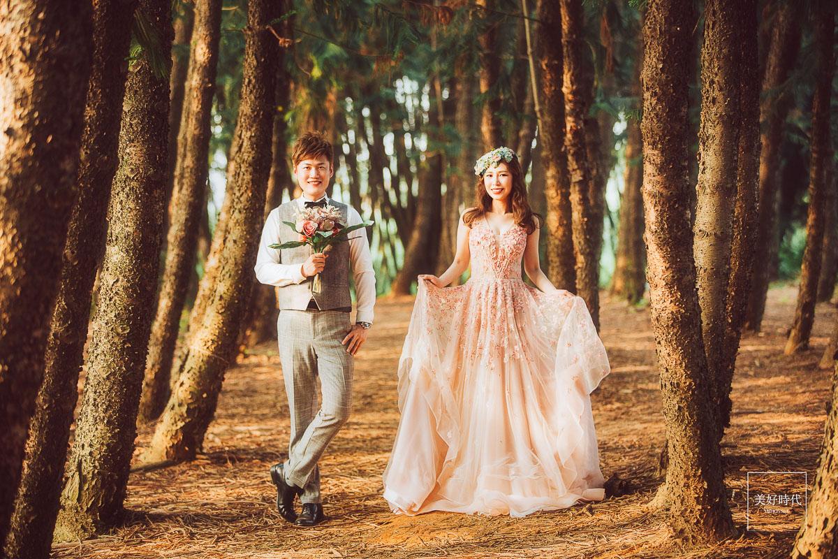 南投 老英格蘭 婚紗 推薦 中部 高山婚紗 九天森林