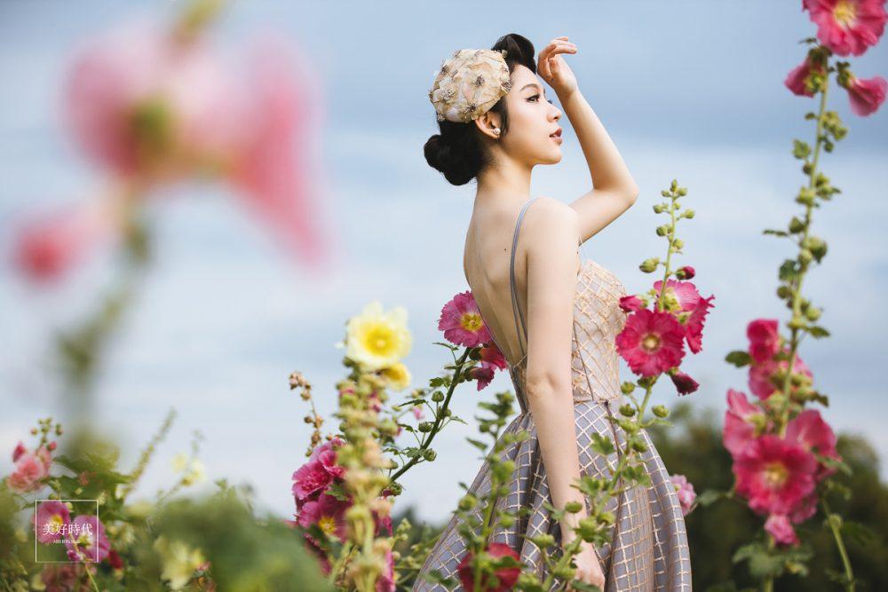 個人寫真 婚紗 台北 推薦 藝術照 蜀葵花