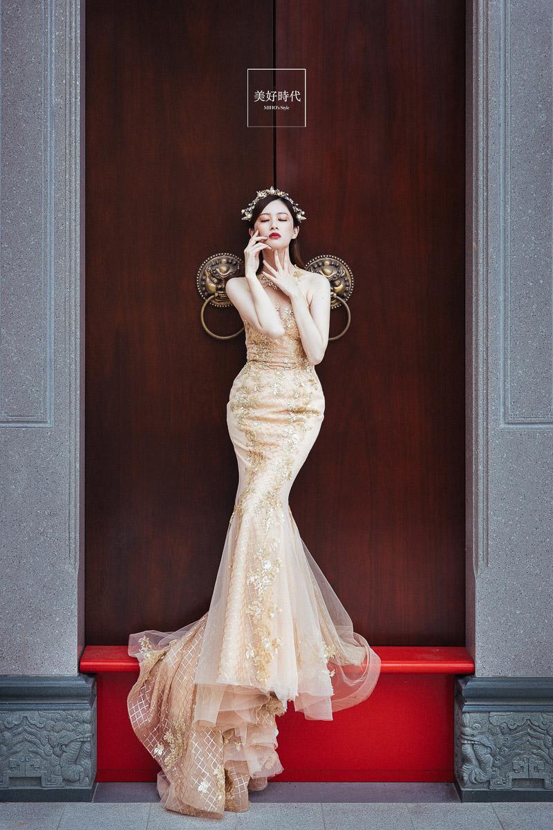 個性 時尚 特色 中國風 台北婚紗工作室推薦