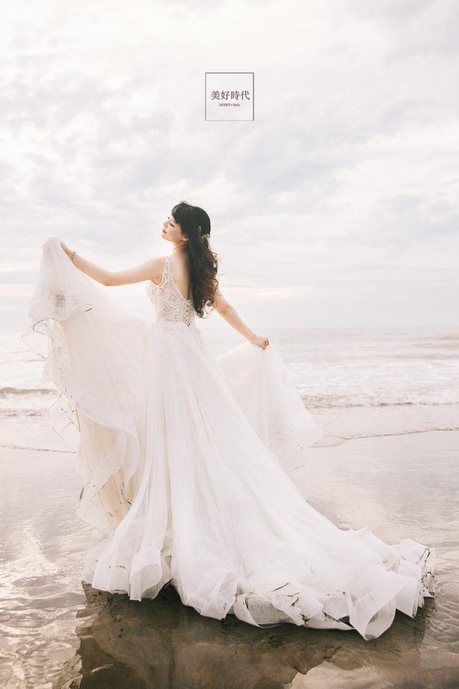 自助婚紗 自主婚紗 台北 婚紗 推薦 唯美 浪漫 海邊