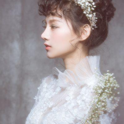 自助婚紗 自主婚紗 台北 婚紗 推薦 唯美 浪漫 個人寫真 滿天星 創意